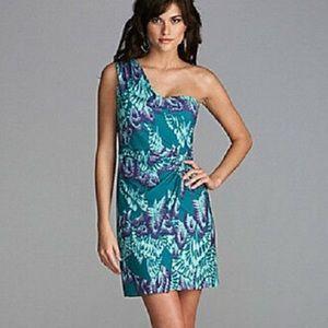 Gianni Bini Butterfly Sarong Tiki Pinup Dress S